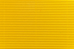 Yellow cardboard Royalty Free Stock Images