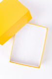Yellow Carton Stock Image