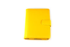 Yellow case Stock Images