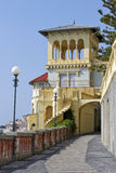 Yellow Castle. A typical castel in italian riviera Stock Photography