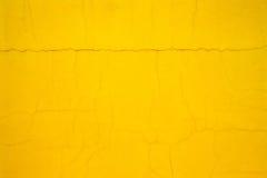 Yellow cement background Stock Photo