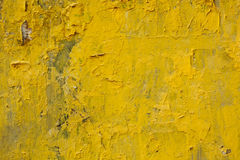 Yellow cement Stock Photography