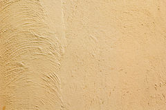 Yellow cement texture Stock Photos