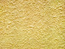 Yellow cement Texture Royalty Free Stock Photos