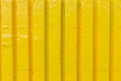 Yellow cement wall Stock Images