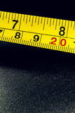 Yellow centimeter Royalty Free Stock Photo