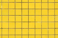 Yellow ceramic cladding for background 2 Stock Photo