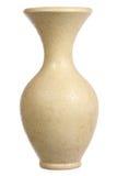 Yellow Ceramic Vase Stock Photography