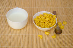 Yellow cereal Royalty Free Stock Images