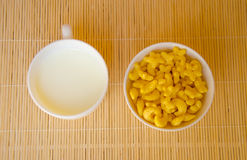 Yellow cereal Royalty Free Stock Photos