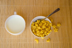 Yellow cereal Stock Photos