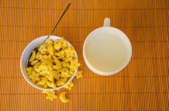 Yellow cereal Royalty Free Stock Photo