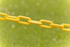 Yellow Chain Link Stock Photos