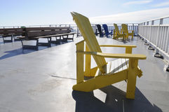 Yellow Chair. Stock Photography