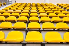 Yellow chair. Royalty Free Stock Photo