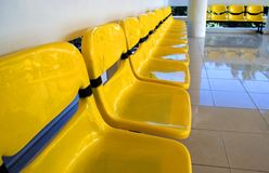Yellow chairs Royalty Free Stock Image