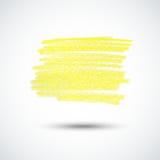 Yellow chalk texture Royalty Free Stock Photo