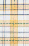 Yellow checked dish towel pattern Royalty Free Stock Image