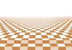 Yellow checkerboard floor background. Abstract Stock Images