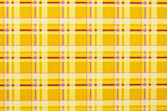 Yellow checkered background. Horizontally Royalty Free Stock Photo