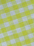 Yellow checkered fabric Royalty Free Stock Images