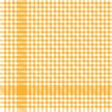yellow checkered table cloth pattern Stock Images