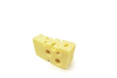Yellow cheese Royalty Free Stock Photos
