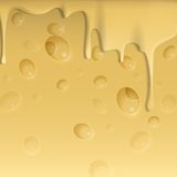 Yellow Cheese Background. Royalty Free Stock Photo