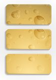 Yellow Cheese Background. Royalty Free Stock Image