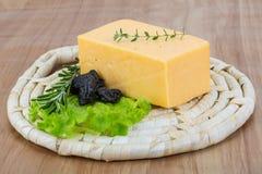 Yellow cheese Royalty Free Stock Photos