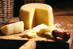 Yellow cheese Royalty Free Stock Photo