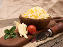 Yellow cheese Royalty Free Stock Images