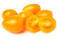 Yellow cherry tomatoes Stock Image