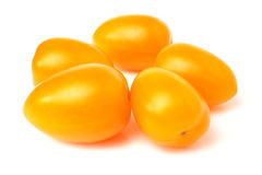 Yellow cherry  tomatoes  Royalty Free Stock Images