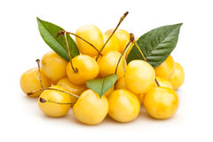 Yellow cherry Royalty Free Stock Photo