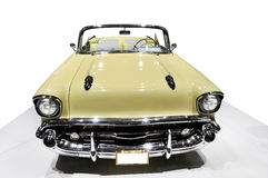 Yellow Chevrolet Royalty Free Stock Photography