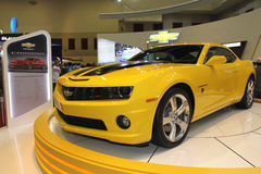 Yellow Chevrolet Camaro Royalty Free Stock Image