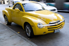 Yellow Chevrolet SSR Royalty Free Stock Photos