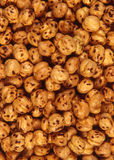 Yellow chickpea. Background stock image