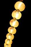 Yellow Chinese lanterns. Royalty Free Stock Image