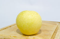 Yellow chinese pear Royalty Free Stock Photos