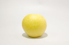 Yellow chinese pear Stock Images