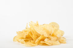 Yellow chips Stock Image