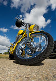 Yellow chopper Stock Images