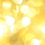 Yellow Christmas background Stock Images
