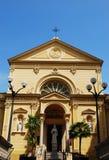 Yellow church Stock Photo