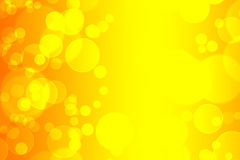 Yellow circles Royalty Free Stock Photo