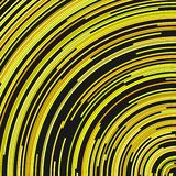 Yellow circular abstract background from concentric circular lines. Yellow circular abstract background - vector illustration from concentric circular lines stock illustration