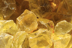 Yellow citrine background Royalty Free Stock Photos