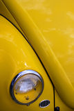 Yellow classic car Royalty Free Stock Photos